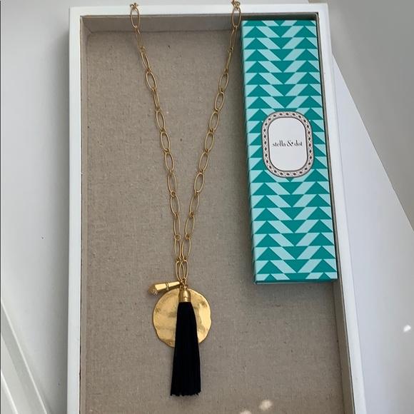 Stella & Dot Jewelry - Stella & Dot Carla Tassel Necklace